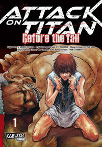 Cover Thumbnail for Attack on Titan - Before the Fall (Carlsen Comics [DE], 2015 series) #1