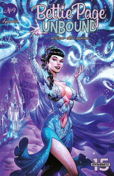 Cover for Bettie Page Unbound (Dynamite Entertainment, 2019 series) #9 [Cover A John Royle]