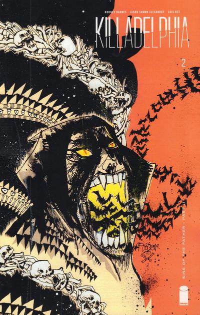 Cover for Killadelphia (Image, 2019 series) #2 [Main Cover by Jason Shawn Alexander]