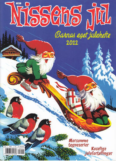 Cover for Nissens jul (Bladkompaniet / Schibsted, 1929 series) #2012