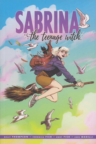 Cover for Sabrina the Teenage Witch (Archie, 2019 series) #1