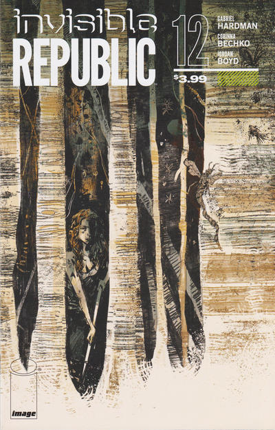 Cover for Invisible Republic (Image, 2015 series) #12