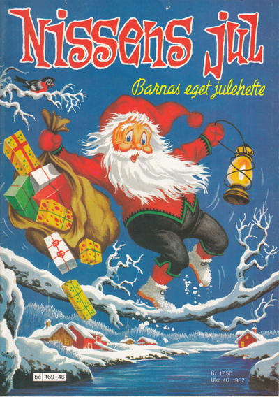 Cover for Nissens jul (Bladkompaniet / Schibsted, 1929 series) #1987
