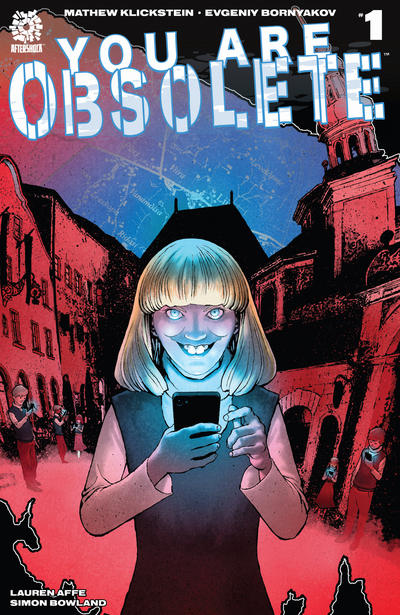 Cover for You Are Obsolete (AfterShock, 2019 series) #1