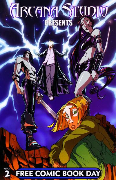 Cover for Arcana Studio Presents (Arcana, 2004 ? series) #2