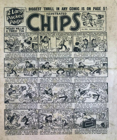 Cover for Illustrated Chips (Amalgamated Press, 1890 series) #2933