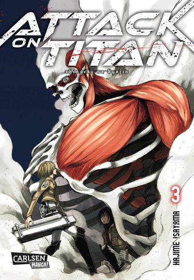 Cover for Attack on Titan (Carlsen Comics [DE], 2014 series) #3
