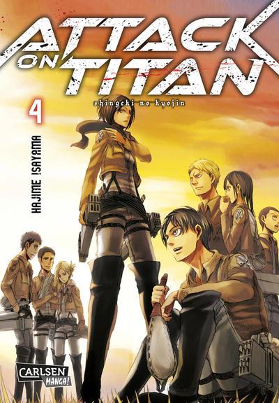 Cover for Attack on Titan (Carlsen Comics [DE], 2014 series) #4