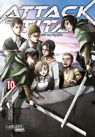 Cover for Attack on Titan (Carlsen Comics [DE], 2014 series) #10