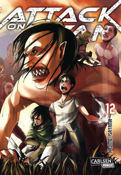 Cover for Attack on Titan (Carlsen Comics [DE], 2014 series) #12