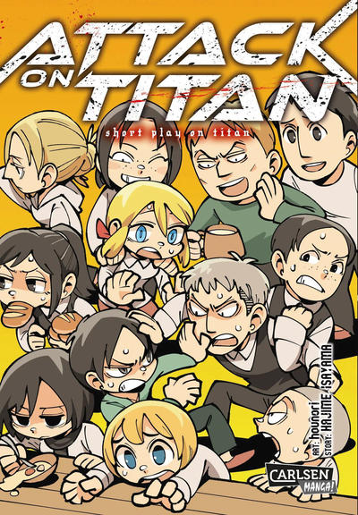 Cover for Attack on Titan - Short Play on Titan (Carlsen Comics [DE], 2017 series)