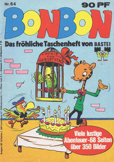 Cover for Bonbon (Bastei Verlag, 1973 series) #64