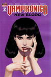 Cover for Vampironica: New Blood (Archie, 2020 series) #2 [Cover C Greg Smallwood]