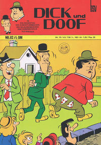 Cover Thumbnail for Dick und Doof (BSV - Williams, 1965 series) #112