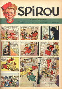 Cover Thumbnail for Spirou (Dupuis, 1947 series) #581