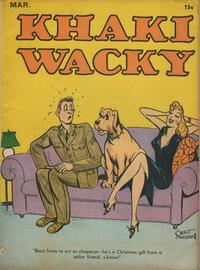 Cover Thumbnail for Khaki Wacky (Hardie-Kelly, 1941 series) #3