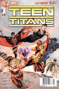 Cover Thumbnail for Teen Titans (DC, 2011 series) #1 [Newsstand]
