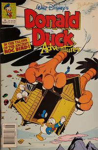 Cover Thumbnail for Walt Disney's Donald Duck Adventures (Disney, 1990 series) #16 [Newsstand]