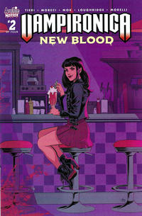 Cover Thumbnail for Vampironica: New Blood (Archie, 2020 series) #2 [Cover A Audrey Mok]