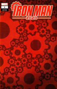 Cover Thumbnail for Iron Man 2020 (Marvel, 2020 series) #1 ['Gears' Design Wraparound]