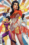 Cover for Wonder Woman (DC, 2016 series) #750 [1960s Variant Cover by J. Scott Campbell]