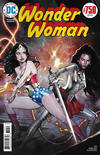 Cover Thumbnail for Wonder Woman (2016 series) #750 [1970s Variant Cover by Olivier Coipel]