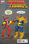 Cover Thumbnail for Deadpool vs Thanos (2015 series) #1 [Axel Alonso Action Figure Variant]