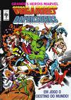 Cover for Grandes Heróis Marvel (Editora Abril, 1983 series) #8
