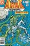 Cover for Arak / Son of Thunder (DC, 1981 series) #16 [Canadian]