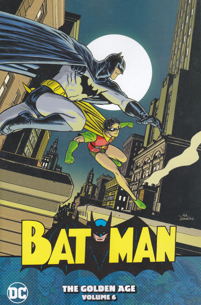 Cover for Batman: The Golden Age (DC, 2016 series) #6