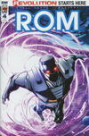Cover for ROM (IDW, 2016 series) #4 [Retailer Incentive (P. Mhan)]