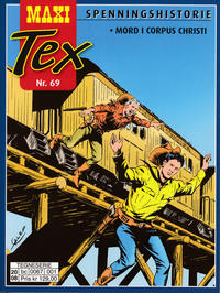 Cover Thumbnail for Maxi Tex (Hjemmet / Egmont, 2008 series) #69 - Mord i Corpus Christi