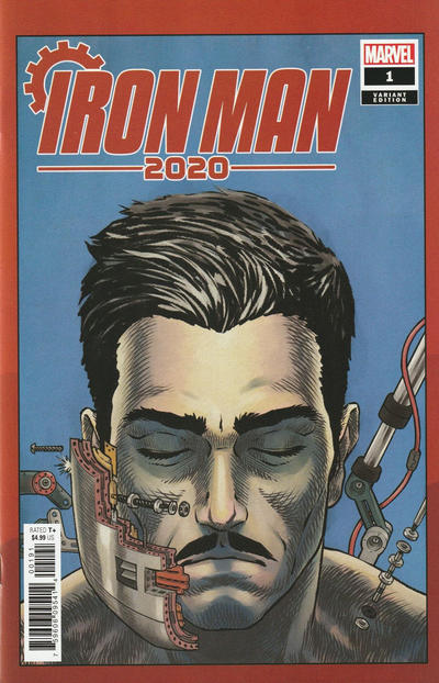 Cover for Iron Man 2020 (Marvel, 2020 series) #1 [InHyuk Lee]