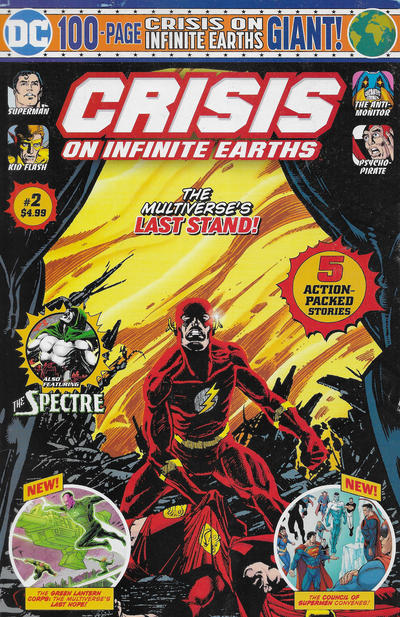 Cover for Crisis on Infinite Earths Giant (DC, 2019 series) #2 [Mass Market Edition]