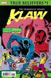 Cover Thumbnail for True Believers: The Criminally Insane - Klaw (Marvel, 2020 series) #1