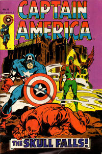 Cover Thumbnail for Captain America (Yaffa / Page, 1978 ? series) #8