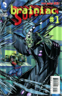 Cover for Superman (DC, 2011 series) #23.2 [3-D Motion Cover]
