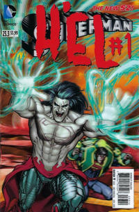 Cover Thumbnail for Superman (DC, 2011 series) #23.3 [3-D Motion Cover - Second Printing]