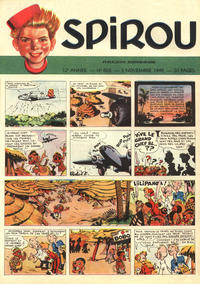 Cover Thumbnail for Spirou (Dupuis, 1947 series) #603
