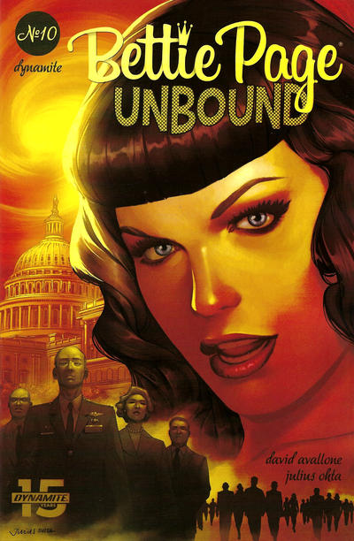 Cover for Bettie Page Unbound (Dynamite Entertainment, 2019 series) #10 [Cover B Anthony Marques]