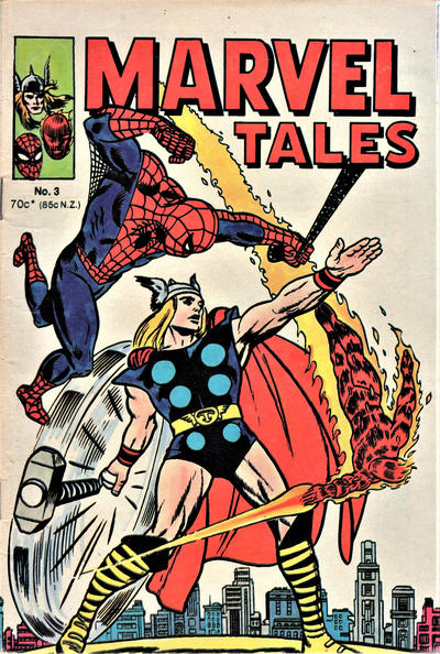 Cover for Marvel Tales (Yaffa / Page, 1977 ? series) #3