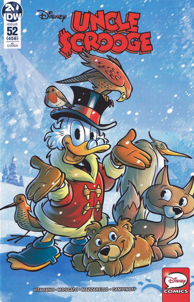 Cover for Uncle Scrooge (IDW, 2015 series) #52 / 456