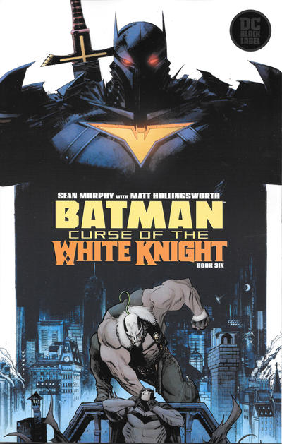 Cover for Batman: Curse of the White Knight (DC, 2019 series) #6