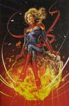 Cover for Captain Marvel (Marvel, 2019 series) #1 [Sanctum Sanctorum Exclusive - David Nakayama Virgin Art]