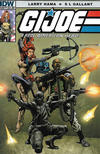 Cover for G.I. Joe: A Real American Hero (IDW, 2010 series) #207 [S.L. Gallant Cover]