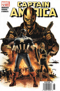 Cover Thumbnail for Captain America (Marvel, 2005 series) #16 [Newsstand]