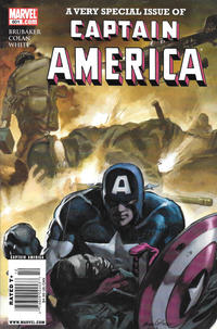Cover Thumbnail for Captain America (Marvel, 2005 series) #601 [Newsstand]