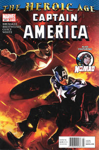 Cover Thumbnail for Captain America (Marvel, 2005 series) #607 [Newsstand]