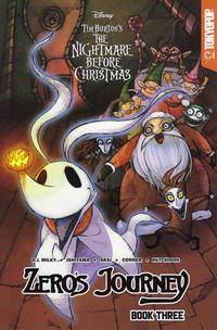 Cover Thumbnail for Disney Tim Burton's the Nightmare Before Christmas: Zero's Journey Graphic Novel (Tokyopop, 2018 series) #3