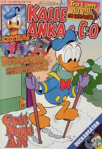 Cover Thumbnail for Kalle Anka & C:o (Serieförlaget [1980-talet], 1992 series) #1/1996